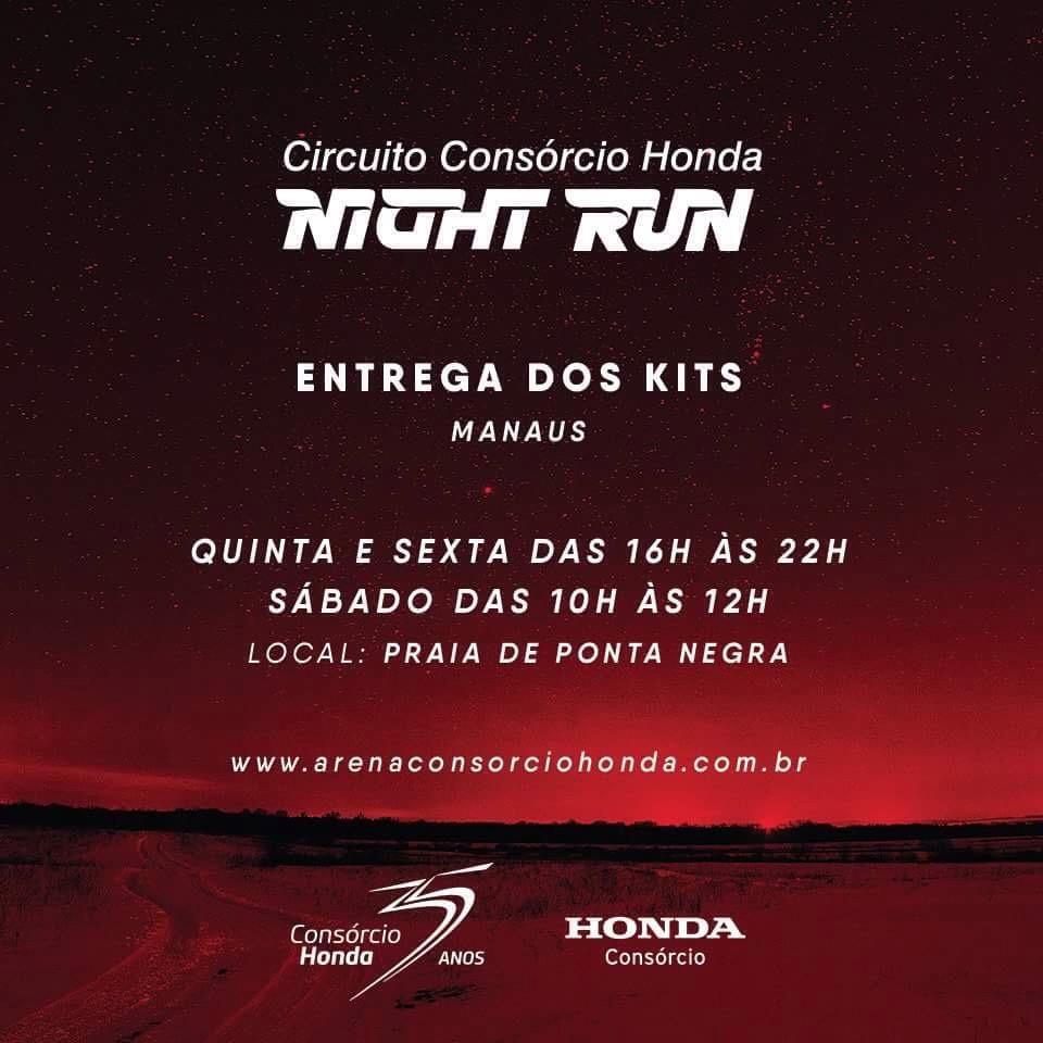 Circuito Night Run : Night run costão do santinho iluminou floripa nesse final de semana